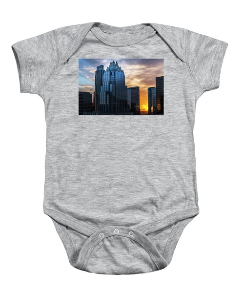 Frost Bank Tower Baby Onesie