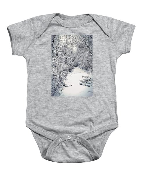 Frosted Feeder Baby Onesie