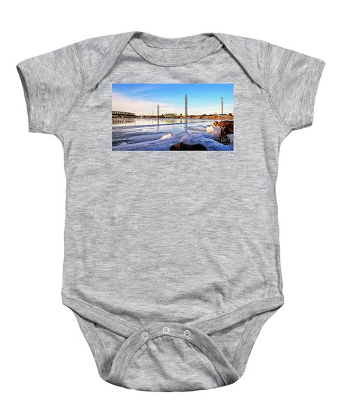 Frozen In Time Baby Onesie