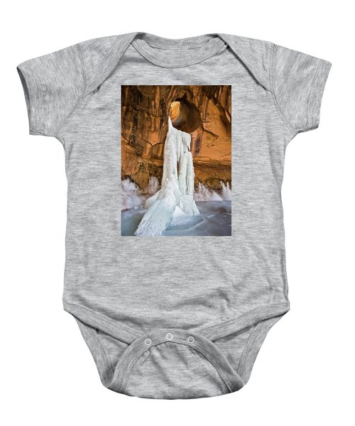 Frozen Waterfall Baby Onesie
