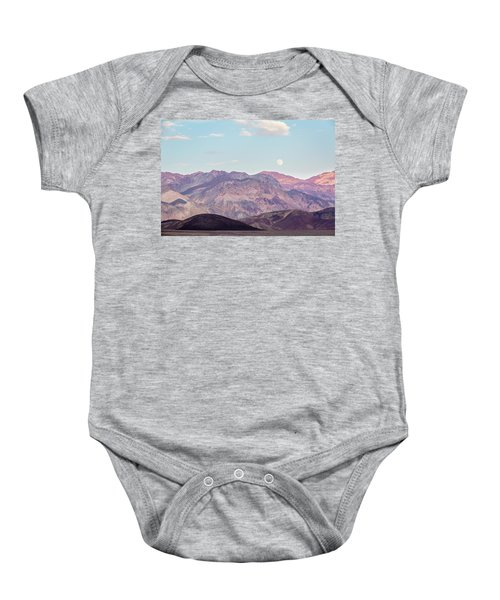 Full Moon Over Artists Palette Baby Onesie