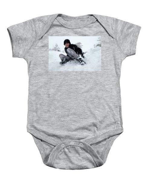 Fun On Snow-4 Baby Onesie