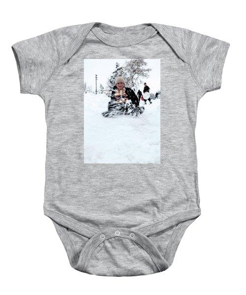 Fun On Snow-5 Baby Onesie