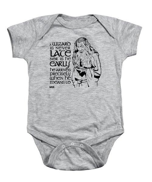 Gandalf Baby Onesie