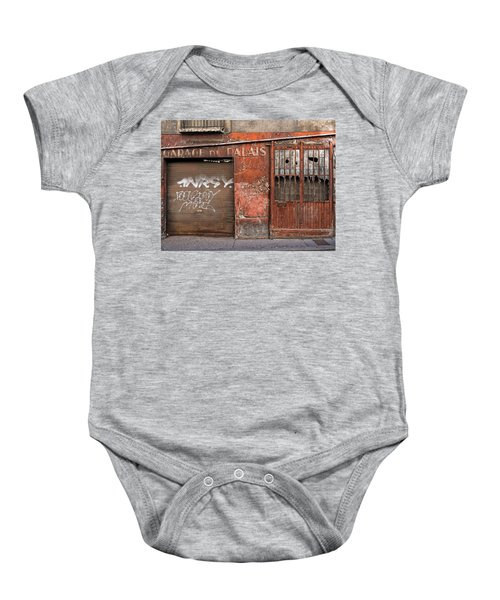 Garage Du Palais Baby Onesie