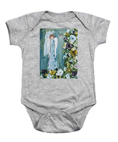 Garden Angel Baby Onesie