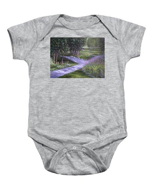 Garden Walk Baby Onesie