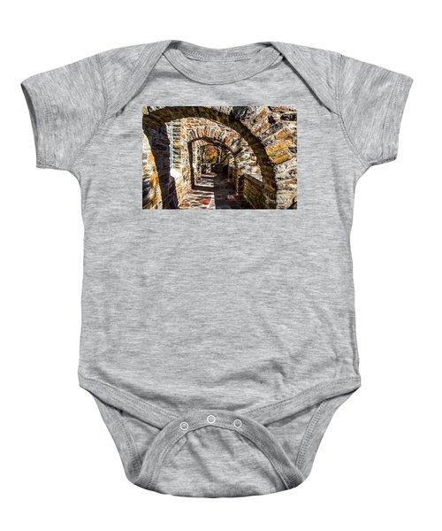 Garrett Chapel Balcony Baby Onesie