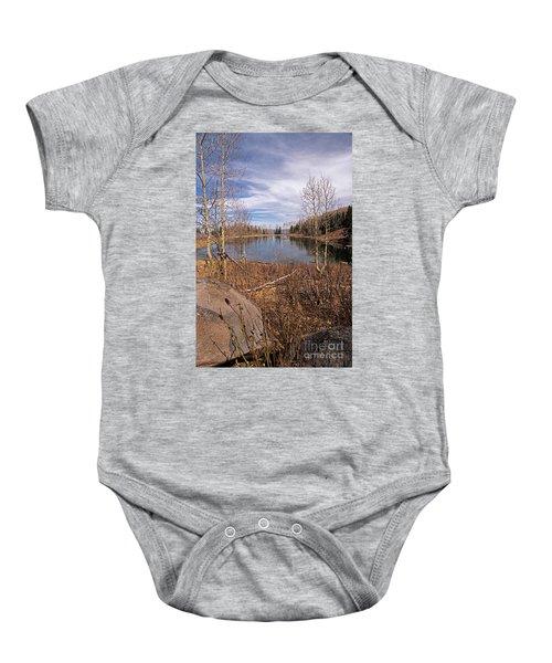 Gates Lake Ut Baby Onesie