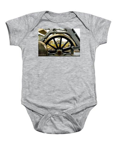 Gears Work Baby Onesie