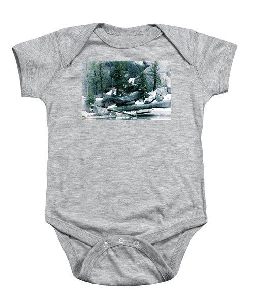 Gem Lake Baby Onesie