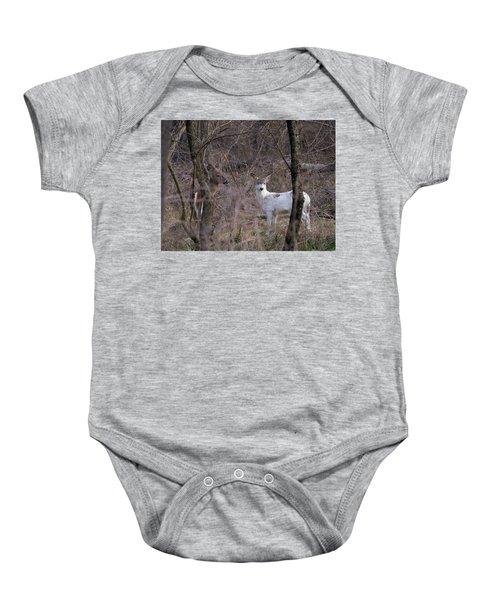 Genetic Mutant Deer Baby Onesie
