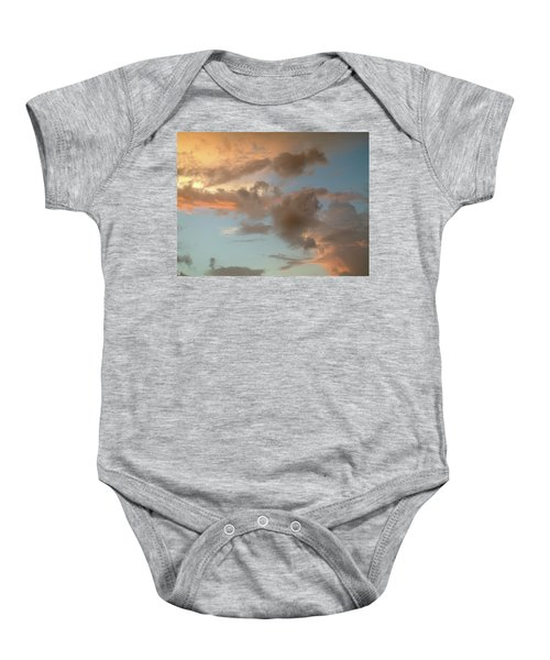 Gentle Clouds Gentle Light Baby Onesie