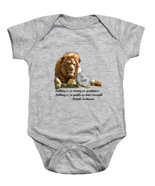 Gentle Strength Baby Onesie