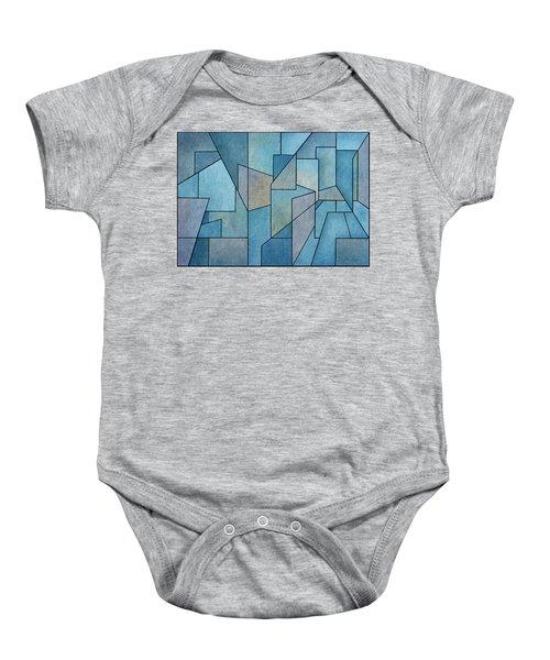 Geometric Abstraction IIi Baby Onesie