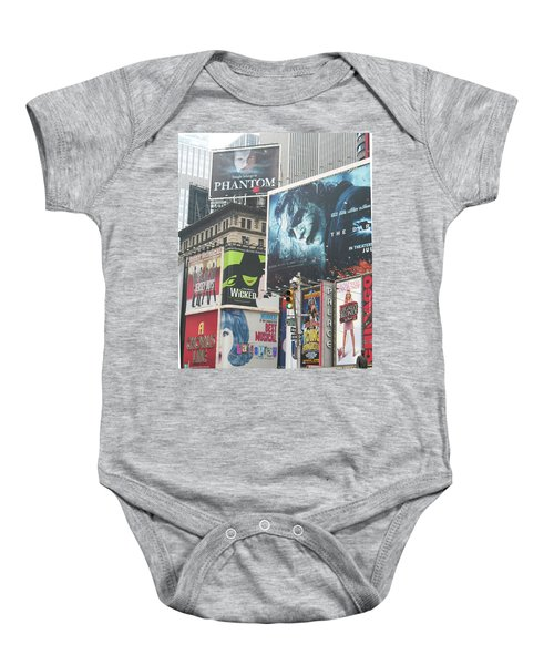 George M Baby Onesie by David Jaffa