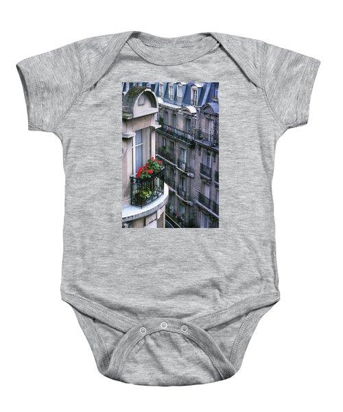 Geraniums - Paris Baby Onesie