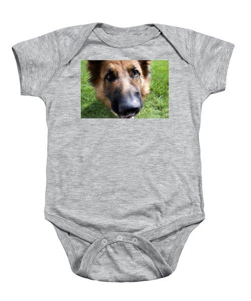 German Shepherd Dog Baby Onesie