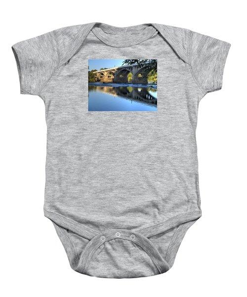 Gervais Street Bridge-1 Baby Onesie