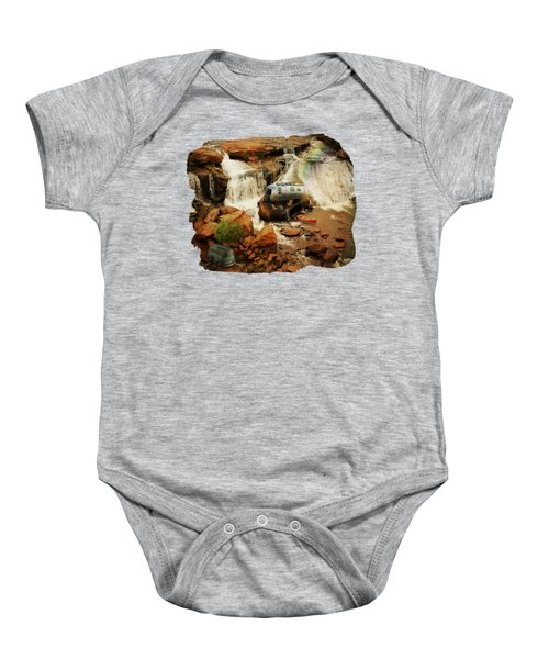 Get Away From It All 2 Baby Onesie