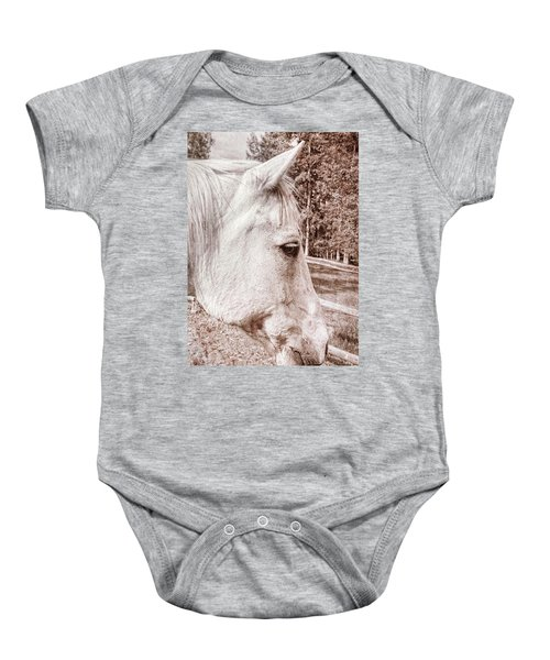 Get My Good Side, Please Baby Onesie
