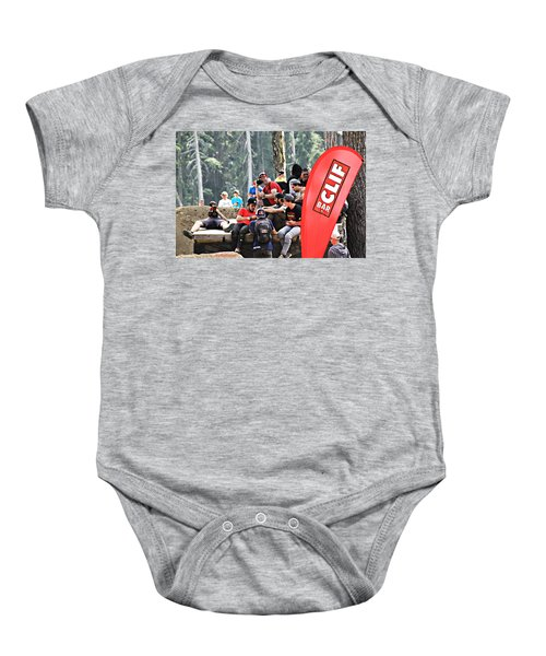 Getting Crowded Baby Onesie