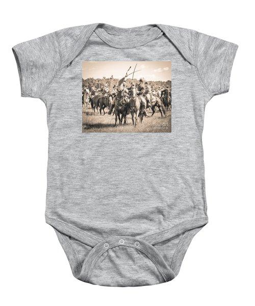 Gettysburg Cavalry Battle 7992s  Baby Onesie