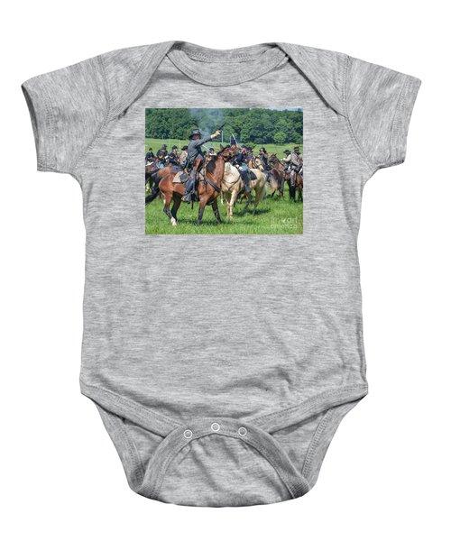 Gettysburg  Union Cavalry 7920c  Baby Onesie