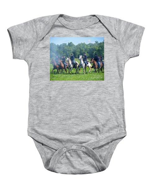 Gettysburg  Union Cavalry Baby Onesie