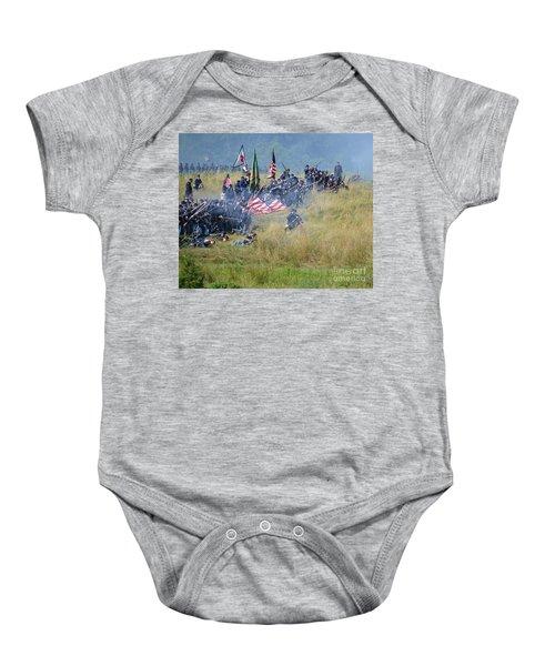 Gettysburg Union Infantry 8963c Baby Onesie