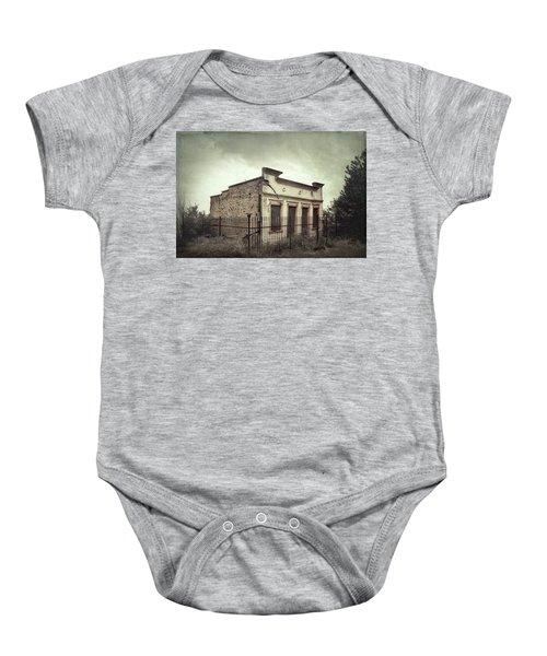 Ghost Cottage Baby Onesie