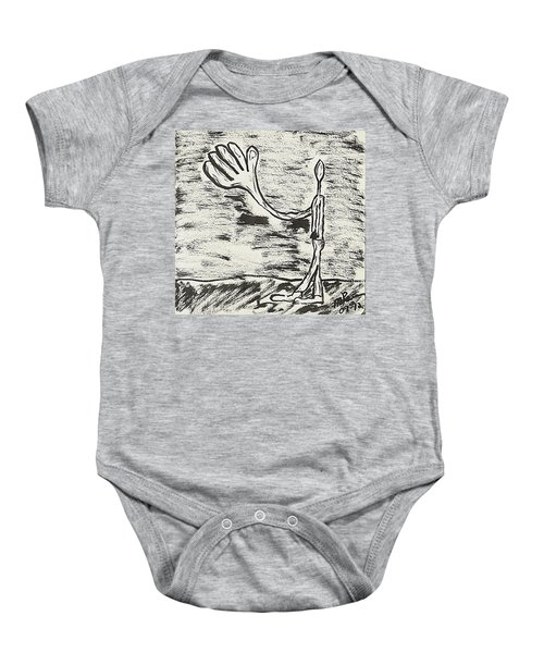 Give Me A Hand Baby Onesie