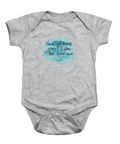 Give Baby Onesie