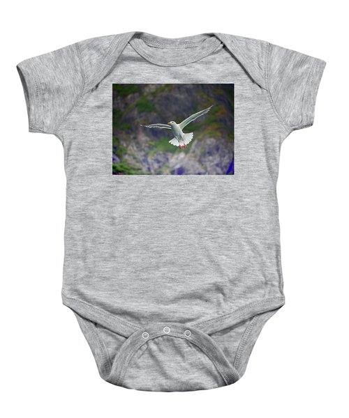 Glaucous-winged Gull Baby Onesie