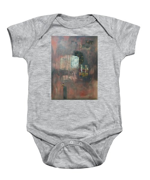 Glimpse Of Town Baby Onesie