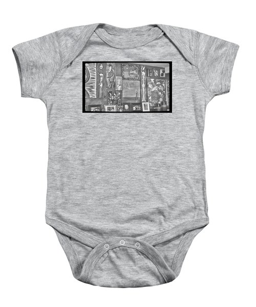 Glimpses Of Where Art Lives 4 Baby Onesie