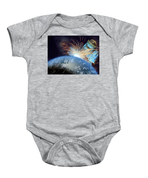 Global Meltdown Baby Onesie
