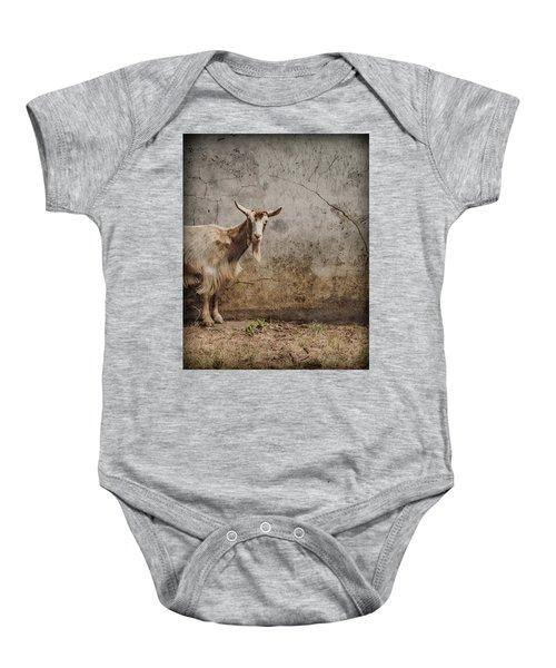 London, England - Goat Baby Onesie