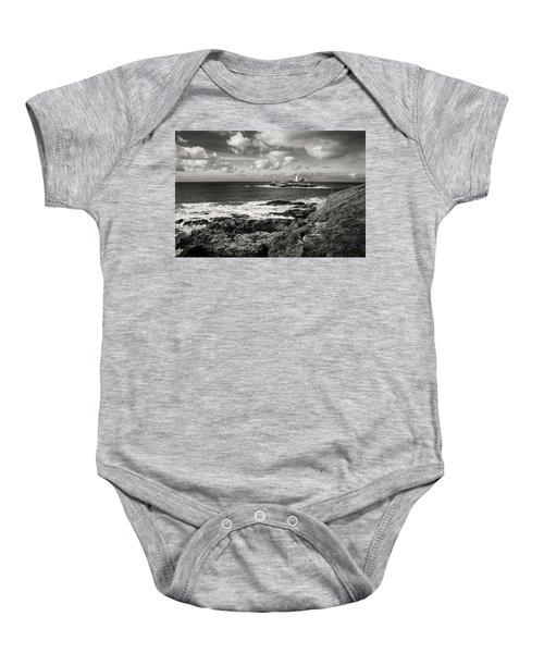 Godrevy Lighthouse 1 Baby Onesie