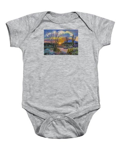 God's Day - Sonoran Desert Baby Onesie