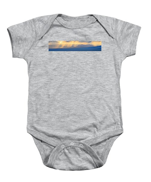 God's Rays Over The Great Basin  Baby Onesie