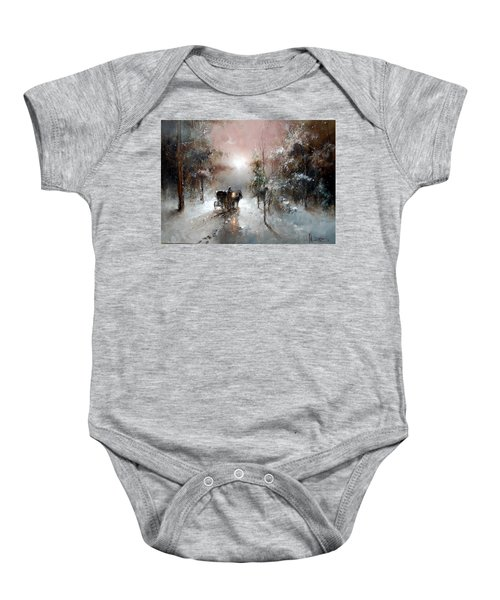 Going For Visit Baby Onesie