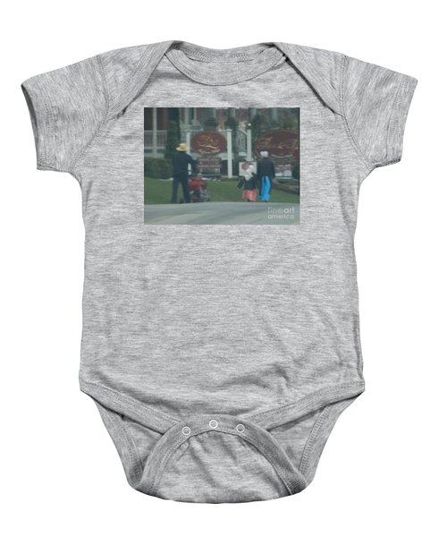 Going To Town Baby Onesie