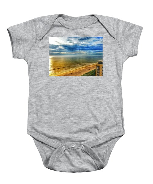 Gold Beach  Baby Onesie