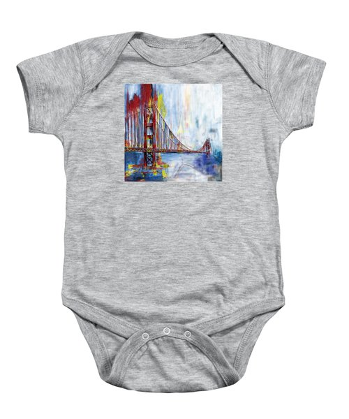 Golden Gate Bridge 218 1  Baby Onesie by Mawra Tahreem