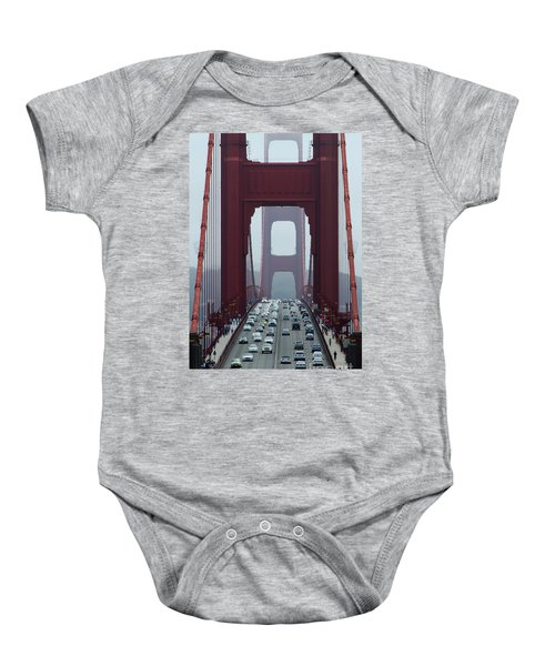 Golden Gate Bridge, San Francisco Baby Onesie