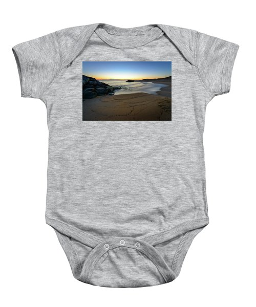 Golden Hour Baby Onesie