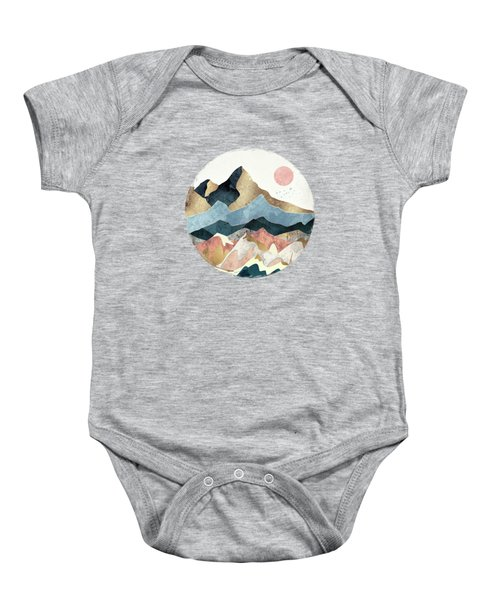 Golden Peaks Baby Onesie
