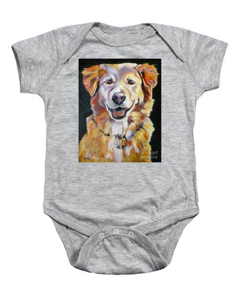 Golden Retriever Most Huggable Baby Onesie
