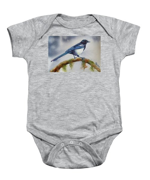 Goldigger Baby Onesie by Patricia Pushaw